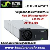 Wholesale Delta Eltek Valere Flatpack2 48-60V/2000W HE 241115.705 converter module from china suppliers