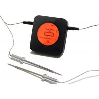 Wholesale 6 Probe Port BBQ Meat Thermometer / Black Bluetooth Remote Cooking Thermometer from china suppliers