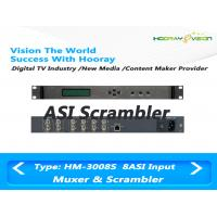 Wholesale Four CAS Simul - Crypt DVB TV Scrambler Support PCR Adjust  MPEG Video Streams  1RU Platform from china suppliers