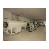 Wholesale High Output Agricultural Drainage PVC Pipe Production Line Double Screw Extruder from china suppliers