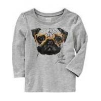 Wholesale Beautiful Anti - Shrink lovely style comfortable Toddler Graphic Tees manufactures from china suppliers