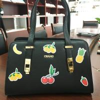 Wholesale Silk Printing Handmade Bags Leather Sticker Patch Embossed Dealing Finished from china suppliers