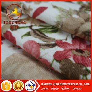 Wholesale Dubai super soft plush velvet upholstery sofa fabric wholesale from china suppliers