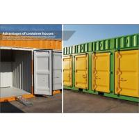 Wholesale 20' Modular Shipping Container House / Prefabricated Homes with color steel frame from china suppliers