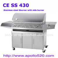 China 6 Burners BBQ Grill Cart on sale