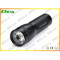 Wholesale 3 Watt Black LED Flash Lights Rechargeable High Powered Flashlight from china suppliers