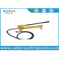 Wholesale Model CP-700 Hydraulic Hand Pump For Hydraulic Cylinder 700bar 1000Psi from china suppliers
