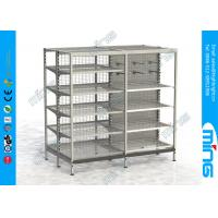 Wholesale Australian Style Supermarket Display Shelves Mesh Pegboard Back from china suppliers