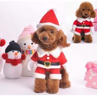Wholesale Red Christmas dog clothes , large dog christmas costumes XS S M from china suppliers