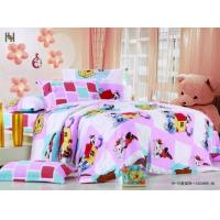 Wholesale Designer Full Queen Size Printed 100 % Cotton Kids Bed Sheet Sets for Girls and Boys from china suppliers