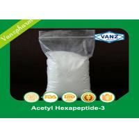 Wholesale Acetyl Hexapeptide-3 Human Endocrine Hormones Cas 616204-22-9 White Powder from china suppliers