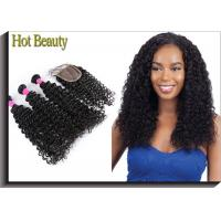 Wholesale 5A Virgin Brazilian Hair Deep Curl Double Weft Hair Can Be Dyed And Bleached from china suppliers