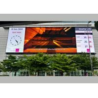 Wholesale SMD Outdoor LED Advertising Screens With 14 Bit Gray Scale 12m Min View Distance from china suppliers