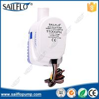 Sailflo 1100GPH automatic 12V boat submersible bilge pump for marine/boat