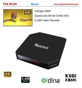 Amlogic S905 OTT TV BOX 2015 best android tv box xbmc Kodi 15.2 Live Streaming OTA 2016 T9S Plus Quad Core