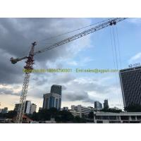 Wholesale qtz5010 Hammerhead Tower Crane 4tons Max. Height 120M Freestanding Height 30M from china suppliers