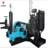 Wholesale Tiplex Cylinder Drilling Rig Mud Pumps 4-10Mpa 66-320L/Min Displacement from china suppliers