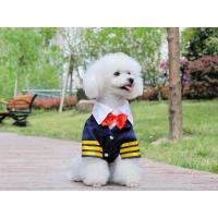 Wholesale Fashion Navy suit for dog dog clothes with cheap price from china suppliers