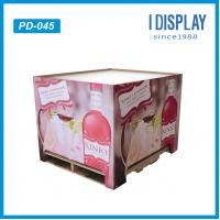 Wholesale Wine/Drinking/Body Wash Cardboard Dump Bins Display Rack from china suppliers