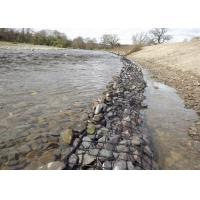 Wholesale ASTM A975 Standard Gabion Stone Baskets , Gabion Rock Baskets For River Training from china suppliers