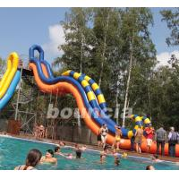 Wholesale Giant Inflatable Water Slide With Durable 0.9 mm PVC Tarpaulin from china suppliers