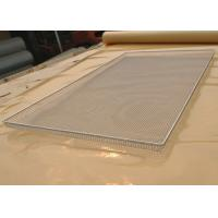 Wholesale Food Grade Wire Mesh Tray For Vegetable Dehydration , Corrosion Resistant from china suppliers