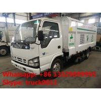 Wholesale hot sale best price Japan ISUZU brand vacuum sweeping vehicle, factory sale ISUZU 4*2 LHD street vacuum cleaning truck from china suppliers