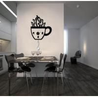 Wholesale Vinyl Bowl Wall Decoration Designer Wall Sticker Clocks 10A026  from china suppliers