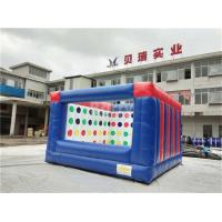 Wholesale Outdoor Electric Twister Inflatable Interactive Games With Logo Printing OEM from china suppliers