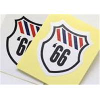 Wholesale Colorful PVC Adhesive Sticker Custom Shaped Sticker Printing Matte / Gloosy from china suppliers