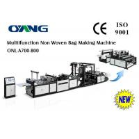 Wholesale 220v / 380v Eco - friendly Ultrasonic Non Woven Bag Making Machine 9 Motors from china suppliers