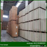 Wholesale High brightness 200g 250g 300g 350g Art card paper in China from china suppliers