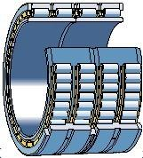 Wholesale Low operating friction Multi - row cylindrical roller bearings for Equipment, Truck, Cars from china suppliers
