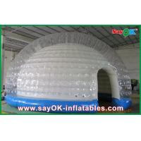 Wholesale 0.45mm PVC Tarpaulin Inflatable Wedding Tent / Custom Inflatable Tent from china suppliers