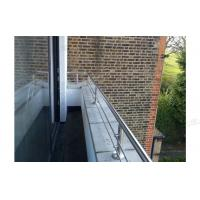 Buy cheap china supplier balcony balustrade stainless steel railings design from wholesalers