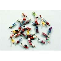 Wholesale Plastic 1:300 Architectural Scale Model People Painted Figures 0.6cm from china suppliers