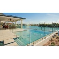 Wholesale Modern Frameless Tempered Glass Water Pool Railing / Balustrade from china suppliers