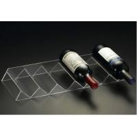 Wholesale Hot acrylic wine stopper holder stand and liquor bottle rack display for wine and drink from china suppliers