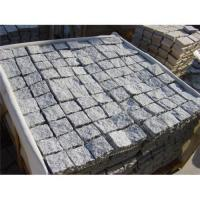 Buy cheap Meshed grey paving stone from wholesalers