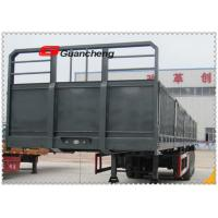 Wholesale 40 Ton Loading Capacity Cargo Semi Trailer , Container Side Loader Trailer from china suppliers