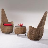 Wholesale Rattan chair, living room set, classic chair high back, #1145 from china suppliers
