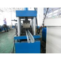 Buy cheap High Efficient Storage Shelf Rack Roll Forming Machine 8-10m/min Speed from wholesalers