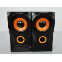 Wholesale USB Wired Wooden Computer Speakers 4Ohm 2.0 With Volume Control from china suppliers