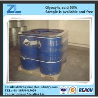 Wholesale Colorless 50% Min Glyoxylic Acid Liquid CAS NO 298-12-4 from china suppliers