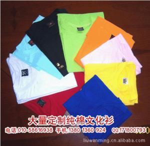 Quality EXPORT CUSTOM LOGO 180g short sleever blue tshirt 100%COTTON tshirt for sale
