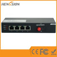 Wholesale 4 Port Megabit Rj45 Fast Enterprise Ethernet Switch Din Rail 12vdc from china suppliers