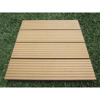 Wholesale DIY Anti-Corrosion Outdoor Wood Plastic Composite Flooring for Garden and Balcony from china suppliers