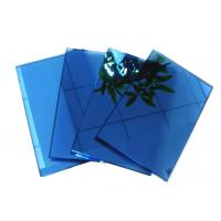 Wholesale Blue , grey , pink Coloured Reflective Glass Sheet for Commercial Buildings from china suppliers