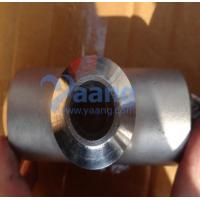 Quality DIN2605 Super Duplex Stainless Steel 2507 Reducing Tees for sale