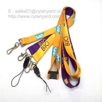 Quality Tailored screen print polyester neck ribbon factory wholesaler in China for sale